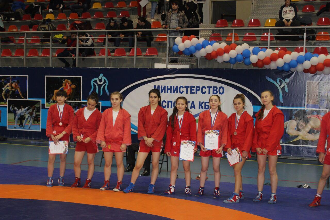 Первенство Северо-Кавказского  федерального округа по самбо среди юношей и девушек 2002-2003 годов рождения