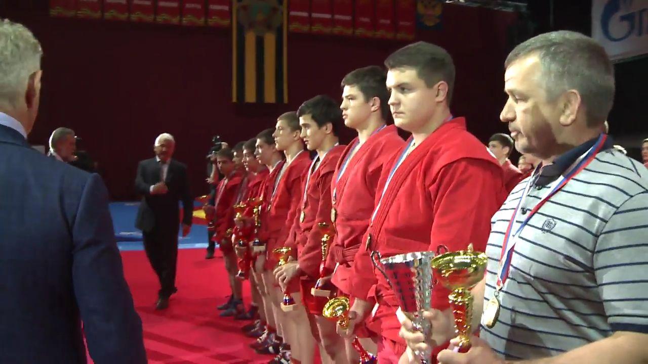 Бронзовые медали Международного юношеского турнира «Победа» по самбо