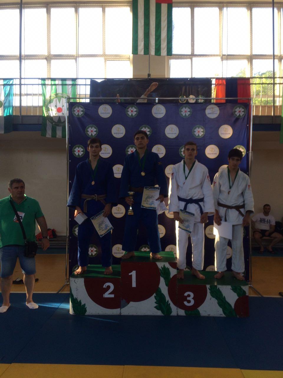 Победители и призеры  X  Международных  соревнований по дзюдо  «КУБОК АБХАЗИИ»